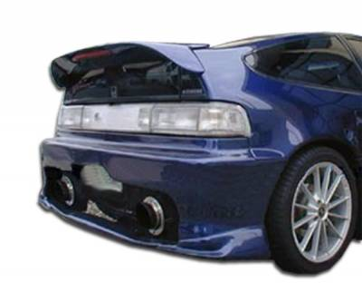 Extreme Dimensions 16 - Honda CRX Duraflex Type M Flared Wing Trunk Lid Spoiler - 1 Piece - 102951