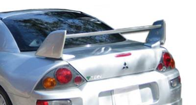 Extreme Dimensions 16 - Mitsubishi Eclipse Duraflex Shock Wing Trunk Lid Spoiler - 1 Piece - 103048