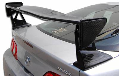 Extreme Dimensions 16 - Acura RSX Carbon Creations Type M Wing Trunk Lid Spoiler - 1 Piece - 105229