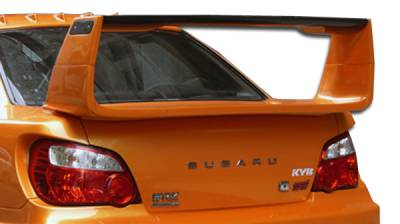 VIS Racing - Subaru WRX Duraflex C-GT Wide Body Wing Trunk Lid Spoiler - 1 Piece - 105438
