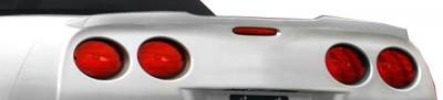 Chevrolet Corvette Carbon Creations ZR Edition Wing Trunk Lid Spoiler - 1 Piece - 105702