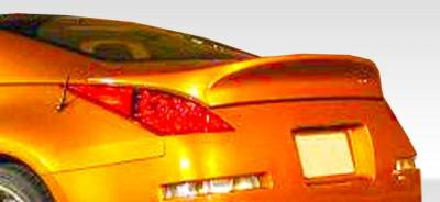 Extreme Dimensions 16 - Nissan 350Z Duraflex I-Spec Wing Trunk Lid Spoiler - 1 Piece - 107073