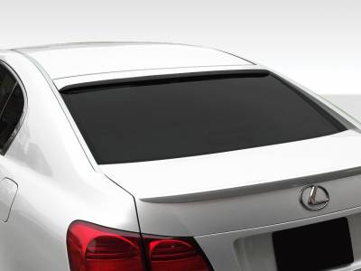 Extreme Dimensions 16 - Lexus GS Duraflex Series VIP Roof Wing Spoiler - 1 Piece - 107678