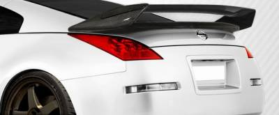 Extreme Dimensions 16 - Nissan 350Z Carbon Creations N-2 Wing Trunk Lid Spoiler - 1 Piece - 107697