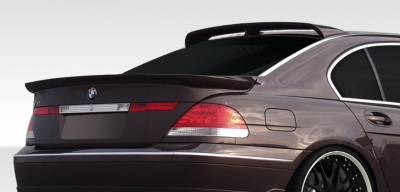 Extreme Dimensions 16 - BMW 7 Series Duraflex HM-S Roof Wing Spoiler - 1 Piece - 108164