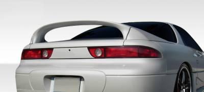 mitsubishi 3000gt vr4 custom. mitsubishi 3000gt duraflex vr4 look rear wing trunk lid spoiler 3 piece 108253 3000gt vr4 custom