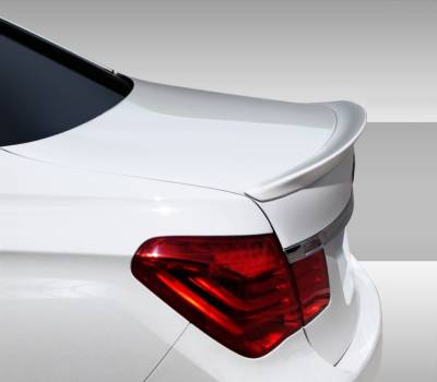 Extreme Dimensions 16 - BMW 7 Series Duraflex Eros Version 1 Rear Wing Trunk Lid Spoiler - 1 Piece - 108471