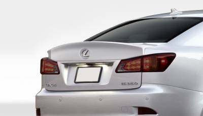 Extreme Dimensions 16 - Lexus IS Duraflex W-1 Rear Wing Trunk Lid Spoiler - 1 Piece - 108678
