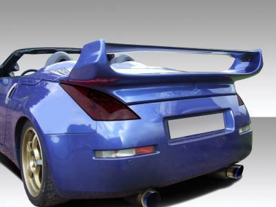 Extreme Dimensions 16 - Nissan 350Z Duraflex Vader 3 Rear Wing Trunk Lid Spoiler - 1 Piece - 109082