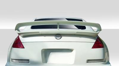 Extreme Dimensions 16 - Nissan 350Z Duraflex N-3 Trunk Wing Spoiler - 1 Piece - 109295