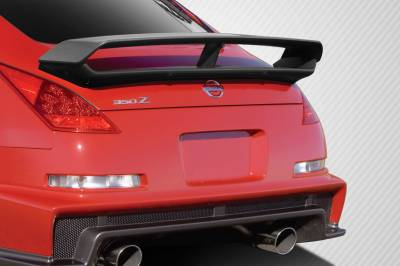 Extreme Dimensions 16 - Nissan 350Z Carbon Creations N-3 Trunk Wing Spoiler - 1 Piece - 109422