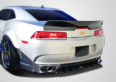 Chevrolet Camaro Carbon Creations Carbon Creations GT Concept Rear Wing Trunk Lid Spoiler - 1 Piece - 109928