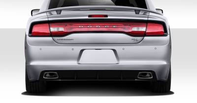 Extreme Dimensions 16 - Dodge Charger Duraflex Racer Rear Lip Under Air Dam Spoiler - 1 Piece - 112240