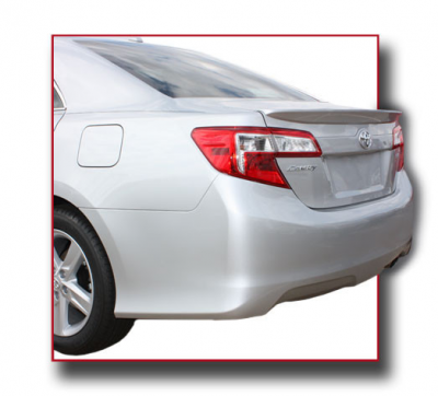DAR Spoilers - Toyota Camry DAR Spoilers OEM Look Trunk Lip Wing w/o Light ABS-758