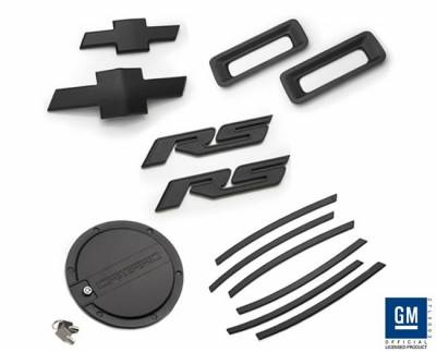 Defenderworx - Chevrolet Camaro Defenderworx RS Exterior Kit - Black - CB20RS
