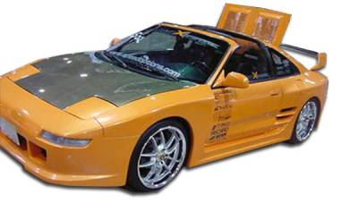Extreme Dimensions 16 - Toyota MR2 Duraflex TD3000 Wide Body Rear Fender Flares - 2 Piece - 101051