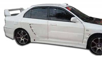 Extreme Dimensions 16 - Mitsubishi Mirage 4DR Duraflex GT500 Wide Body Rear Fender Flares - 2 Piece - 104465