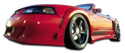 Extreme Dimensions 16 - Ford Mustang Couture Demon Front Fender Flares - 2 Piece - 104786