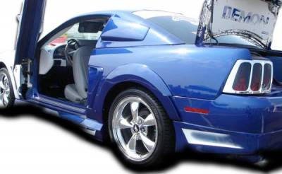 Extreme Dimensions 16 - Ford Mustang Couture Demon Rear Fender Flares - 2 Piece - 104787