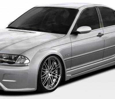 Extreme Dimensions 16 - BMW 3 Series 4DR Duraflex I-Design Wide Body Front Fender Flares - 2 Piece - 106514
