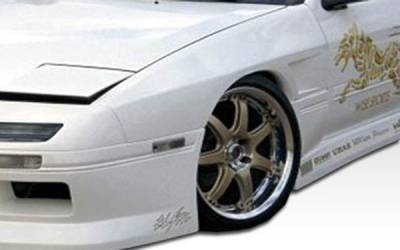 Extreme Dimensions 16 - Mazda RX-7 Duraflex M-1 Sport Front Fenders - 2 Piece - 100728