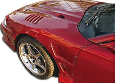 TruFiber - Ford Mustang Duraflex Velocity Fenders - 2 Piece - 101439