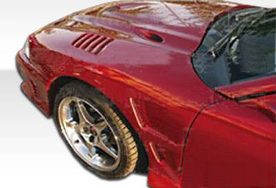 Extreme Dimensions 16 - Ford Mustang Duraflex Velocity Fenders - 2 Piece - 102249