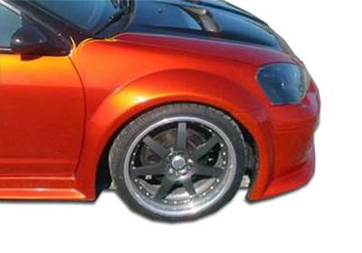 Extreme Dimensions 16 - Acura RSX Duraflex GT300 Wide Body Front Fenders - 2 Piece - 102253