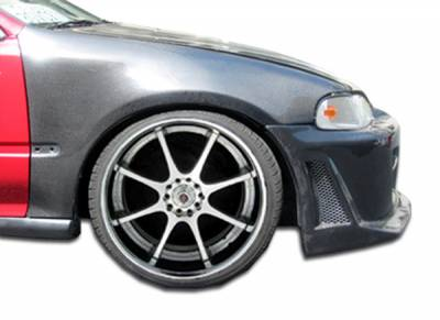 Extreme Dimensions 16 - Honda Civic 2DR & 3DR Carbon Creations OEM Fenders - 2 Piece - 102840