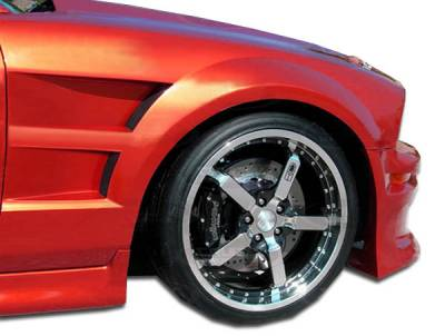 Extreme Dimensions 16 - Ford Mustang Duraflex GT Concept Fenders - 2 Piece - 104386