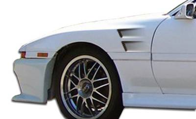 Extreme Dimensions 16 - Toyota Supra Duraflex GT Concept Fenders - 2 Piece - 104398