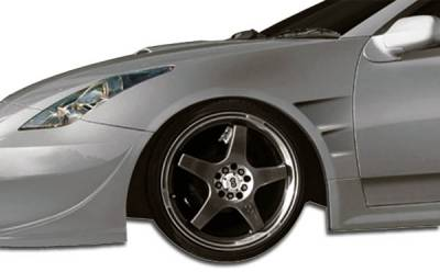 Extreme Dimensions 16 - Toyota Celica Duraflex GT300 Wide Body Front Fenders - 2 Piece - 104511