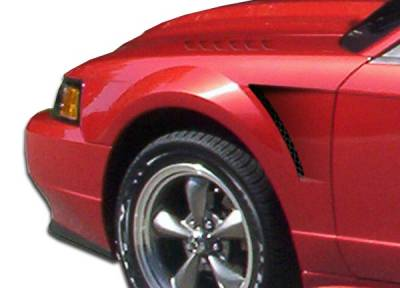 Extreme Dimensions 16 - Ford Mustang Duraflex D-1 Fenders - 2 Piece - 104844