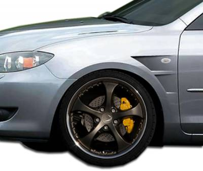 Extreme Dimensions 16 - Mazda 3 4DR Duraflex GT Concept Fenders - 2 Piece - 106199