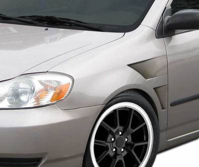 Extreme Dimensions 16 - Toyota Corolla Duraflex GT Concept Fenders - 2 Piece - 106249