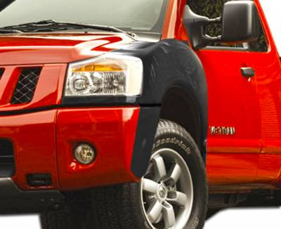 Extreme Dimensions 16 - Nissan Titan Duraflex 4 Inch Off Road Bulge Front Fenders - 2 Piece - 106473