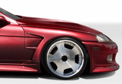 Extreme Dimensions 16 - Lexus SC Duraflex V-Speed Wide Body Front Fenders - 2 Piece - 106574