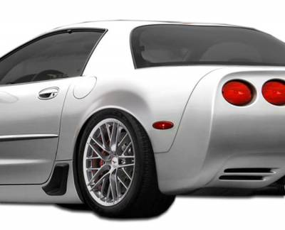 Chevrolet Corvette Duraflex ZR Edition Rear Fenders - 2 Piece - 107033