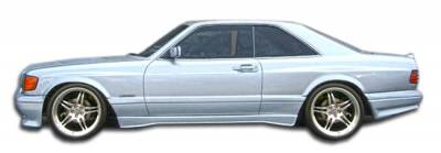 Extreme Dimensions 16 - Mercedes-Benz S Class Duraflex AMG Look Wide Body Front Fenders - 2 Piece - 107199
