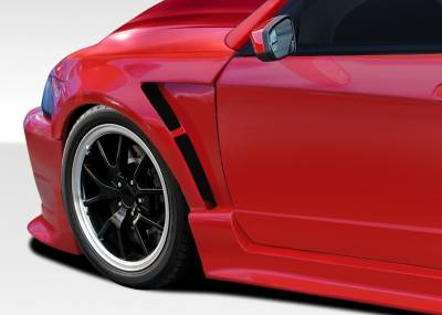 KBD - Ford Mustang Duraflex CBR500 Wide Body Front Fenders - 2 Piece - 107583