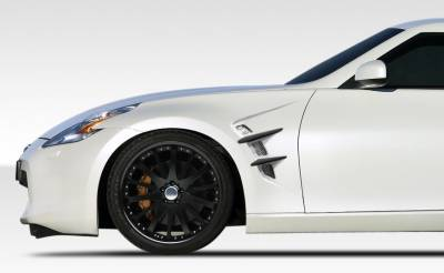 Bay Speed - Nissan 370Z Duraflex W-1 Fenders -2 Piece - 108265