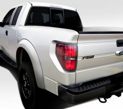 Extreme Dimensions - Ford F150 Duraflex Off Road 4.5 Inch Bulge Raptor Bedsides Rear Fenders - 2 Piece - 108885