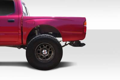 Extreme Dimensions - Toyota Tacoma Duraflex Off Road 4.5 Inch Bulge Bedsides Rear Fenders - 2 Piece - 108888