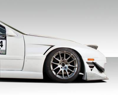 Extreme Dimensions 16 - Mazda RX-7 Duraflex FK Sport 20mm Front Fenders - 2 Piece - 109058