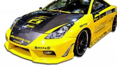 Extreme Dimensions 16 - Toyota Celica Duraflex Bomber Front Bumper Cover - 1 Piece - 100171