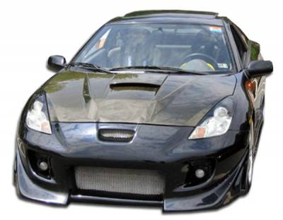 Extreme Dimensions 16 - Toyota Celica Duraflex Blits Front Bumper Cover - 1 Piece - 100175
