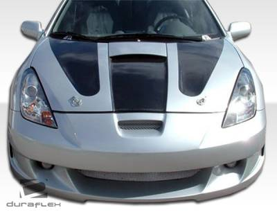 Extreme Dimensions 16 - Toyota Celica Duraflex Type K Front Bumper Cover - 1 Piece - 100189