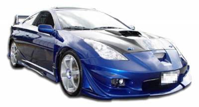 Extreme Dimensions 16 - Toyota Celica Duraflex Vader SE Front Bumper Cover - 1 Piece - 100200