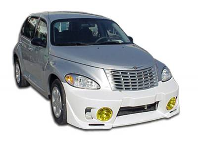 Extreme Dimensions 16 - Chrysler PT Cruiser Duraflex Evo 5 Front Bumper Cover - 1 Piece - 100218