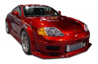 Extreme Dimensions 16 - Hyundai Tiburon Duraflex Poison Flared Front Bumper Cover - 1 Piece - 100454